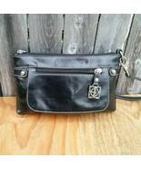 Giani Bernini Leather Black Clutch Wristlet Wallet - $20.00