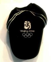 2008 Beijing Olympics Baseball Hat Officially Licensed Souvenir Black - $15.53