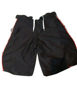 Guinness Mens Sz 36 Swim Trunks Shorts Black White Summer Vacation EUC - $7.04