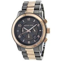 Michael Kors Original MK8189 Watch Unisex Rose Gold Chronograph Stainless steel  - $197.00