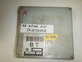 1998 NISSAN ALTIMA  ECU  ECM  # JA18F50EU8 ( PLEASE MATCH # (N-959) - $49.45