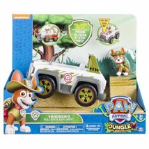 Genuine Paw Patrol Jungle Rescue Tracker's Jungle Cruiser Vehicle And Fi... - $42.91+