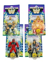 Masters of the WWE Universe Wave 6 Warrior McMahon Kane Goldberg Action ... - $197.99