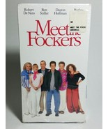 COLLECTIBLE VHS DREAMWORKS MEET THE FOCKERS PG-13 ISBN 1-4170-1826-7 - $3.91
