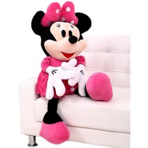 Original 50 cm Minnie Mouse Doll Big Plush Soft Mickey Stuffed Doll Anim... - ₹1,526.59 INR