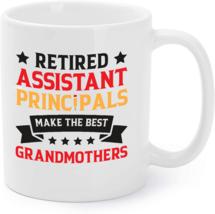 Retired Assistant Principal Grandma School Retirement Gift Coffee Mug - $16.95