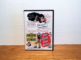 Joan Fontaine 1948 Romance DVD Set Ivy You Gotta Stay Happy Black and White - $20.00