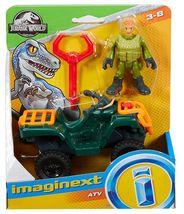 Imaginext Jurassic World Fallen Kingdom, ATV & Technician - $11.99