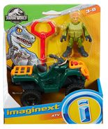 Imaginext Jurassic World Fallen Kingdom, ATV & Technician - $11.99