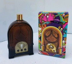 AVON REMEMBER WHEN RADIO DECANTER SPICY AFTER SHAVE VINTAGE 1972 NEW IN ... - $17.81