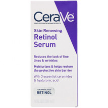 CeraVe, Skin Renewing Retinol Serum, 1 fl oz (30 ml) - $37.18