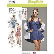 Simplicity Creative Patterns 8139 Misses' Vintage Bathing Dress and Beac... - $13.23