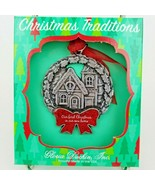 Gloria Duchin New Home First Christmas Holiday Ornament Pewter  - $4.79