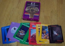 Parker Brothers 1982 E.T ET THE EXTRA-TERRESTRIAL CARD GAME - $19.80