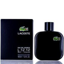 L.12.12 Noir Intense by Lacoste Edt Spray For Men - $40.99