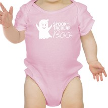 Spook-Tacular Boo Baby Pink Bodysuit - $13.99