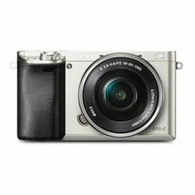 Sony Alpha A6000 Mirrorless Camera 16-50mm Power Zoom Lens Kit Wi-Fi NFC + WHITE image 5
