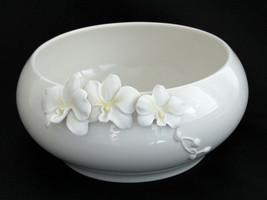 Lenox White Flora Orchid Porcelain Bowl  - $27.71