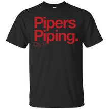 Minimalist Christmas - Pipers Piping Qty11 shirt - $13.95+