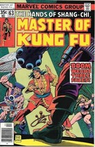 Master of Kung Fu Comic Book #63 Marvel Comics 1978 FINE - $2.99