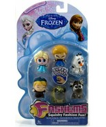 FROZEN FASH'EMS Series 1 Complete SET of 6 - $16.28
