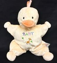 "Kids Preferred Yellow Duck Baby Giraffe Tummy 11"" Plush Stuffed Animal Toy Lovey - $23.95"