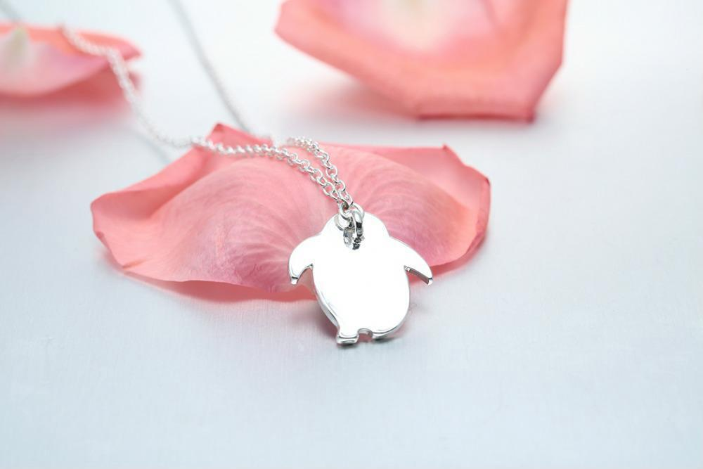 Blue Animal Necklaces Pendants Women Clothing Accessories Valentines Day Gift