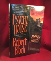 PSYCHO HOUSE First Edition with signature of Robert Bloch - $122.50