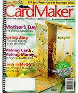 Card Maker Magazine May 2005 From Paper Works Magazine - $5.99