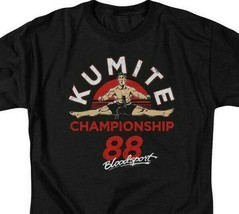 Bloodsport T-shirt Retro movie 1988 Kumite Championship graphic tee MGM293 image 2