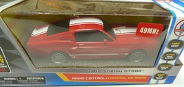 Shelby Collectibles 1967 Shelby GT500 1:24 RC Radio Control Car 49MHz  RED - $29.99