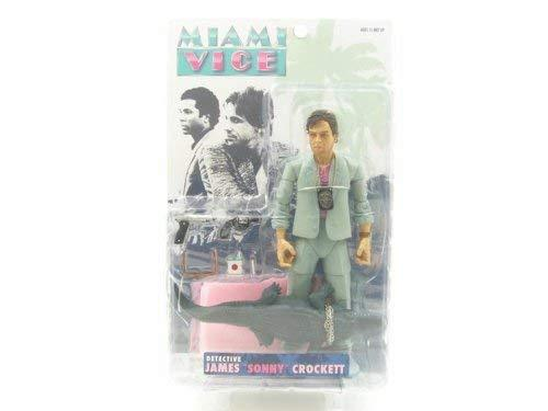 Miami Vice Figure James 'Sonny' Crocket In Seafoam Suit
