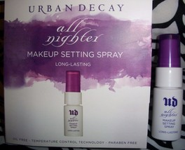 Urban Decay All Nighter Makeup Setting Spray sample travel try size 15mL... - $8.79