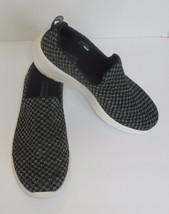 Skechers Go Walk Joy Soothe Womens 6.5 Shoes Black Gray New 15616 Goga Mat - $47.51