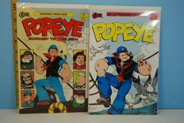 Ocean Comics: Popeye Borned to the Sea #1 & 60th Anniversary Issue #2 1988 - $5.89
