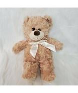"16"" Plush In A Rush Tan Bear Minky Swirl All Plush No Beans Stuffed Toy ... - $24.99"