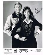 The Carpenters Karen and Richard Publicity autographed  5 x 7 reprint - $4.65