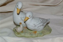Homco Duck Family Geese Figuine Home Interiors 1425 - $9.99