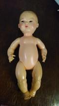 "Vintage 1977 Horsman Doll Drinks & Wets W/ Diaper 13"" Doll - $12.97"
