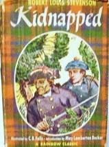 Robert Louis Stevenson Kidnapped 1947 Rainbow Classic Edition C. B. Fall... - $15.00