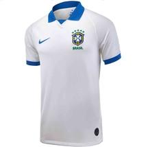 Nike Breathe Brasil CBF Copa America Soccer Stadium Jersey White Away - $65.00