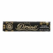Divine - Snack Bar Dark Chocolate 70% - Case Of 18 - 1.2 Oz - $41.97