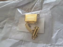 Mil-Spec ITT Cannon DA24658-15 GOLD Backshell 50u in. Gold SCRAP  NEW KI... - $78.21