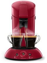 Senseo Original Hd6554/91 Coffee Maker Machine Of On Capsules 0,7L 1450W Red - $373.95