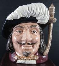 """Royal Doulton Character Jug - """"Porthos"""" D6453 - $28.49"""