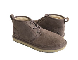 UGG WOMEN NEUMEL STORMY GRAY GREY SHEARLING SUEDE SHOE US 9 / EU 40 / UK 7 - $135.58