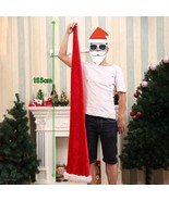 Long Santa Claus Hat Christmas Cap Red Xmas Costume Holiday Elf Party Ac... - $14.01