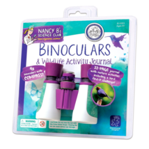 Binoculars For Kids And Wildlife Activity Journal Educational Toy Bird W... - $15.00