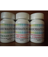 MTF Transgender Feminizing Support Supplement 3 Pack Kit! Test Block/Estro Boost - $129.95