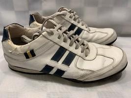 STEVE MADDEN Sequell Sneakers Men's Size 9 White Blue 2005 - $12.61